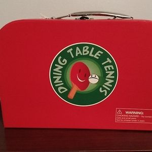 New dining table tennis set
